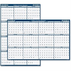 House of Doolittle 395 Reversible Academic Wall Calendar