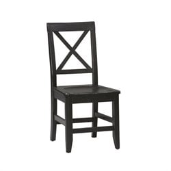 Dining Chair in Distressed Antique Black