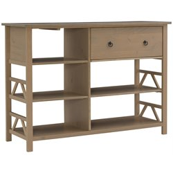 Linon Titian TV Stand in Rustic Gray