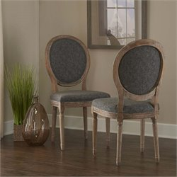 Manchester Oval Back Dining Side Chair (Set of 2)