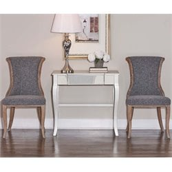 Sheffield Flared Back Dining Side Chair (Set of 2)