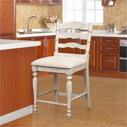 Marino Bar Stool in White Wash