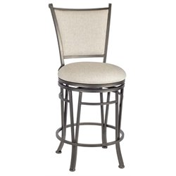 Macon Bar Stool in Beige and Golden Brown