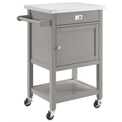 Sydney Stainless Steel Top Kitchen Cart