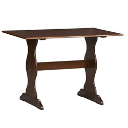 Kitchen Dining Nook Dining Table in Walnut