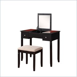 Vanity Set in Black Cherry