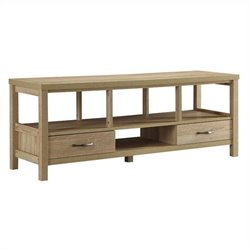 TV Stand in Blonde Finish