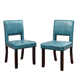 Dining Chairs in Blue (Set of 2)