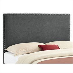 Full/Queen Panel Headboard in Gray