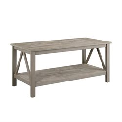 Coffee Table in Rustic Gray