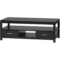 Contemporary Coffee Table in Black