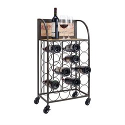 Wine Rack in Black