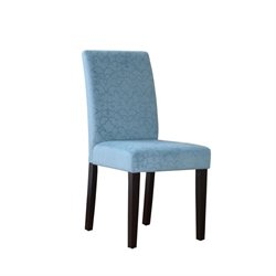 Accent Chair in Blue (Set of 2)