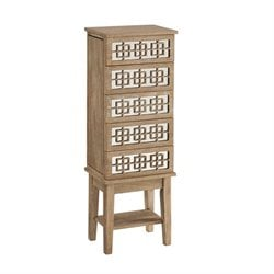 Jewelry Armoire in Natural