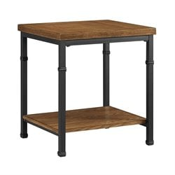 Rectangular End Table in Black