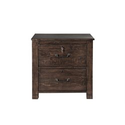 Magnussen Pine Hill Lateral File Cabinet in Rustic Pine