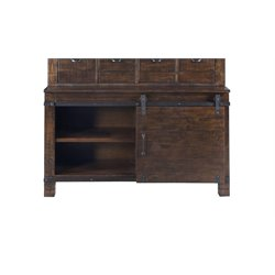 Magnussen Pine Hill Storage Cabinet Base in Rustic Pine