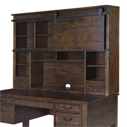 Magnussen Pine Hill Hutch in Rustic Pine