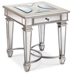 Magnussen Novella End Table in Chalk