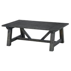 Magnussen Bridgewater Coffee Table in Weathered Charcoal