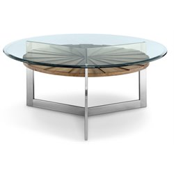 Magnussen Rialto Round Coffee Table in Toffee