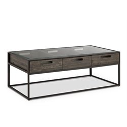 Magnussen Claremont Coffee Table in Weathered Charcoal