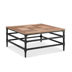 Magnussen Dylan Square Coffee Table in Light Umber