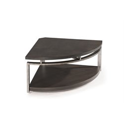 Magnussen Alton Coffee Table in Platinum Charcoal and Gun Metal