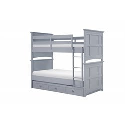 Graylyn Bunk Bed in Steel Drum