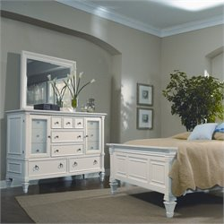 Magnussen Ashby 13 Drawer Dresser with Landscape Mirror