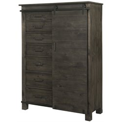 Magnussen Abington Door Chest in Weathered Charcoal