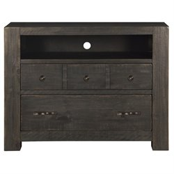 Magnussen Easton 2 Drawer Media Chest in Dark Chocolate