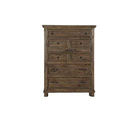 Magnussen Canyon Road 6 Drawer Chest in Soft Caramel