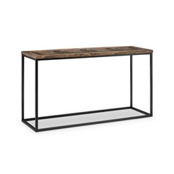Magnussen Rochester Console Table in Burnished Brown