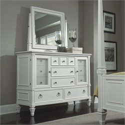 Magnussen Ashby 13 Drawer Dresser and Mirror Set