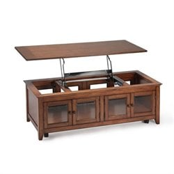 Magnussen Harbor Bay Wood Lift Top Cocktail Table