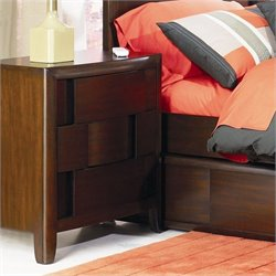 Magnussen Twilight 3 Drawer Nightstand in Chestnut Finish