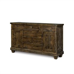 Magnussen Brenley Wood 6 Drawer Dresser in Umber