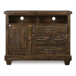 Magnussen Brenley Media Chest in Natural Umbe
