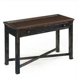Magnussen Clanton Wood Rectangular Sofa Table in Antique Black