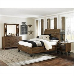 Magnussen Braxton Bedroom Set in Natural