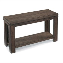 Magnussen Harbridge Rectangular Sofa Table in Warm Nutmeg
