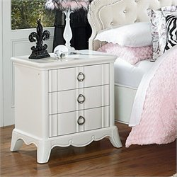 Magnussen Gabrielle Nightstand in Snow White