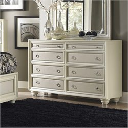 Magnussen Diamond Dresser in Pearl White
