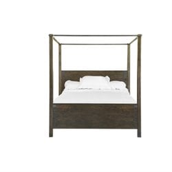 Magnussen Pine Hill Poster Bed in Rustic Pine