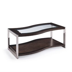 Magnussen Lynx Coffee Table with Casters in Graphite