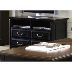 Liberty Furniture St. Ives 2 Drawer Media Lateral File in Chocolate
