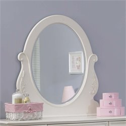 Liberty Furniture Arielle Mirror in Antique White