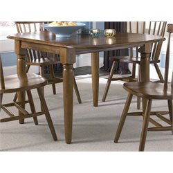 Liberty Furniture Creations II Drop Leaf Dining Table in Tobacco