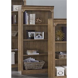 Cumberland Creek Bookcase in Rustic Oak